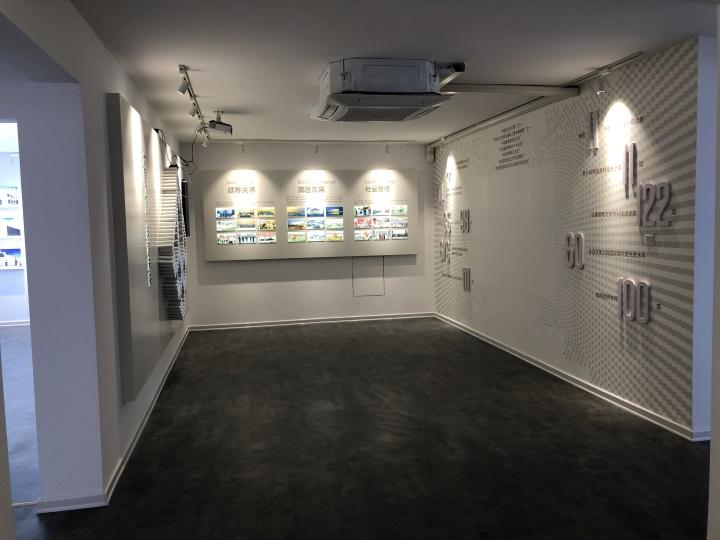 品牌展馆广告装饰工程。