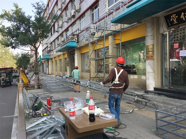 街道牌匾改造工程